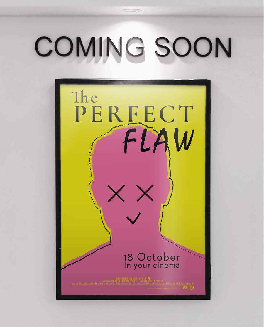 Film poster, the perfect flaw