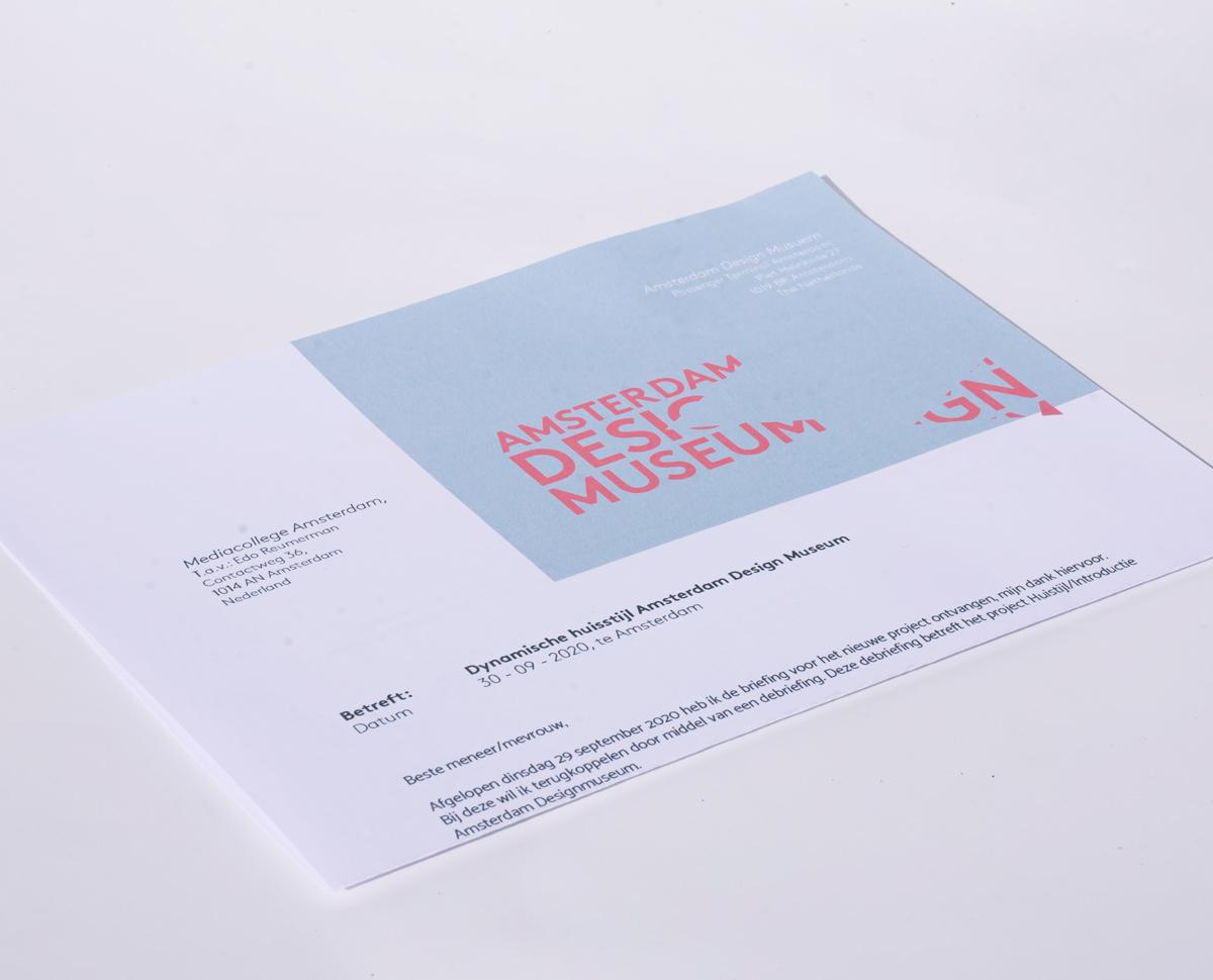 Briefpapier Amsterdam Design Museum