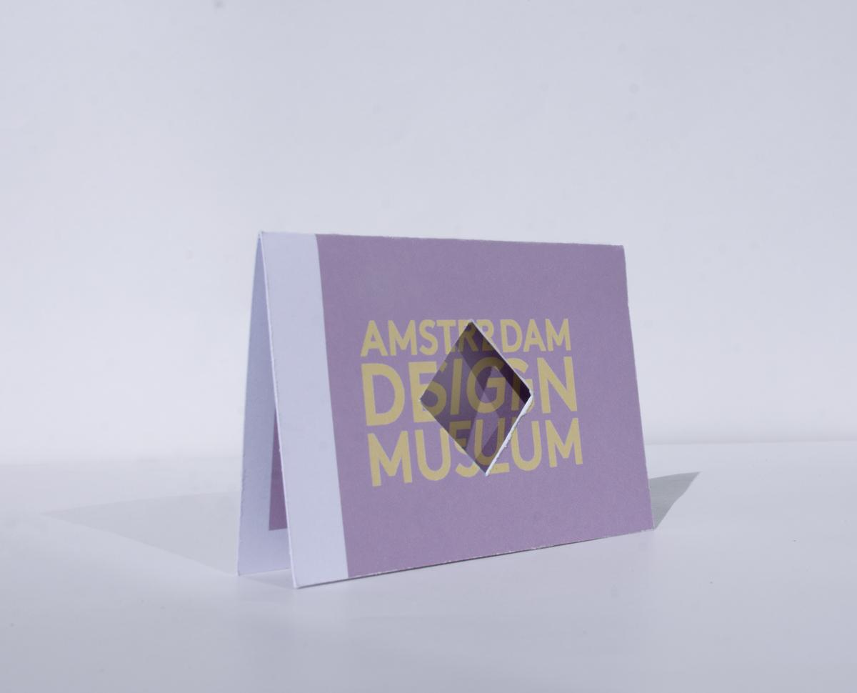 Visite Kaartje Amsterdam Design Museum